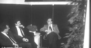 Bettino Craxi e Massimo D'Alema