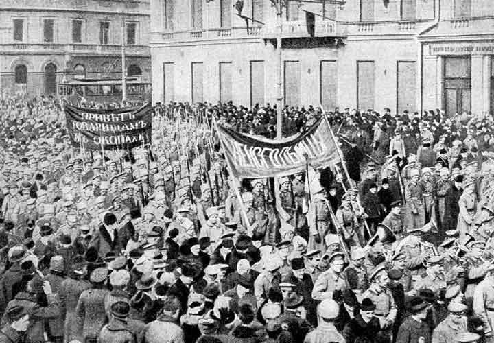 L'anno dell'utopia. La Russia dalla massoneria ai soviet.