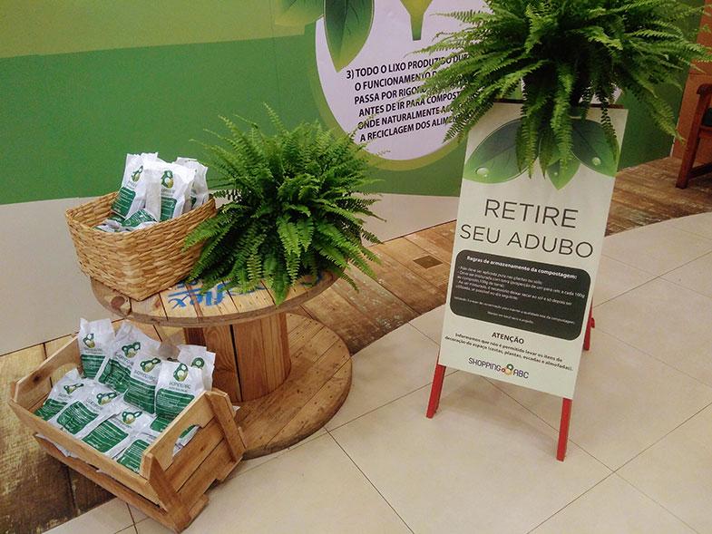 Shoppings investem em compostagem e reciclagem - Pensamento Verde