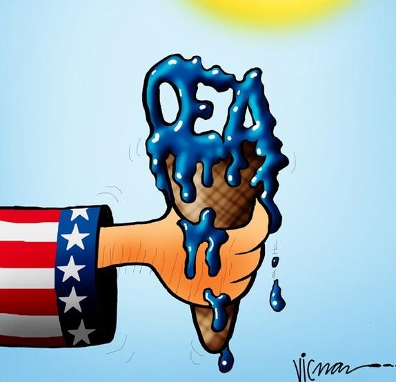 Resultado de imagen para Bye bye OEA