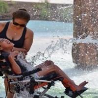 Primeiro parque aquático do Mundo para pessoas com deficiência
