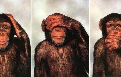 Mi versión de Los tres monos