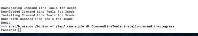 Eliminar temporales de herramientas de xcode