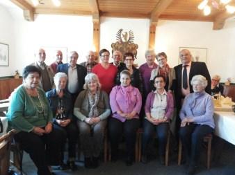 Pensionisten Ehrung 2014