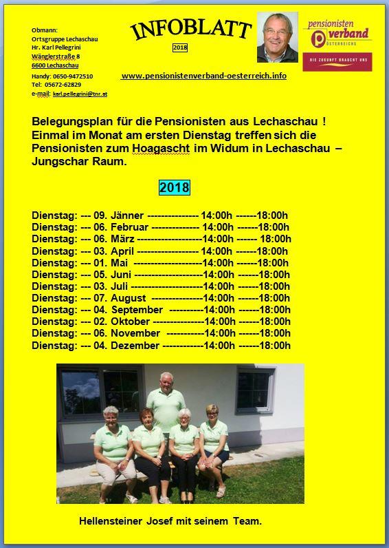 Lechaschau - Thema auf volunteeralert.com