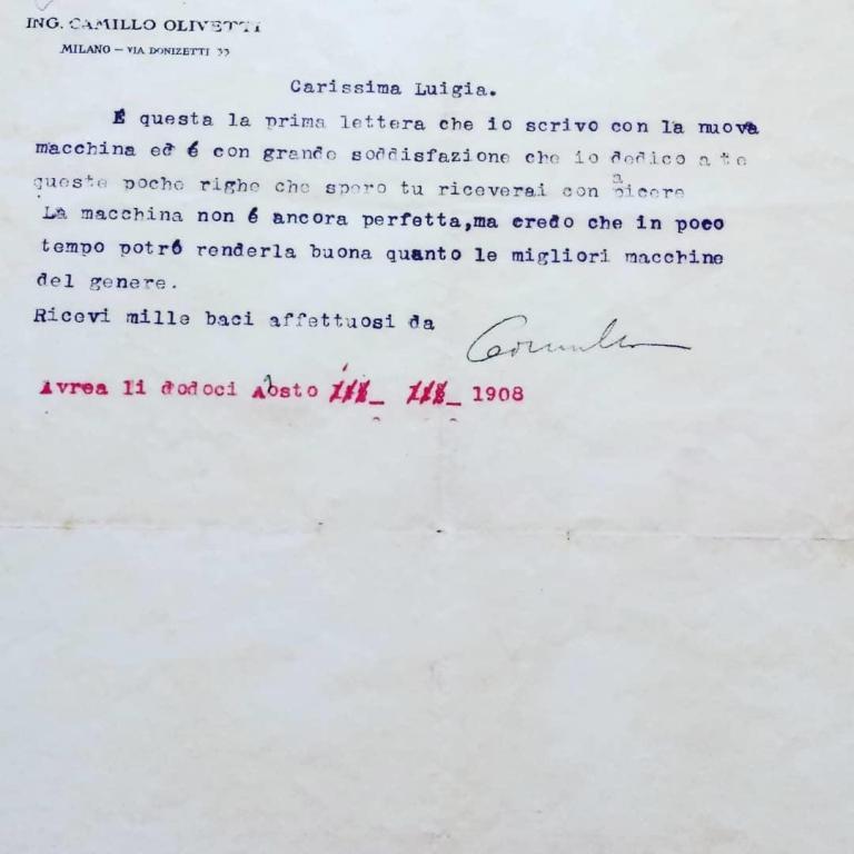 La lettera alla moglie