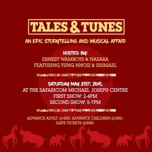 Tales and Tunes, an Epic Stroytelling & Musical Affair