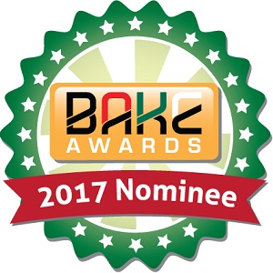 BAKE Awards 2017 Nomination Badge