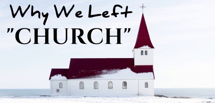 """""""Why don't you go to church?"""" 12 reasons for church ministers to reflect on"""