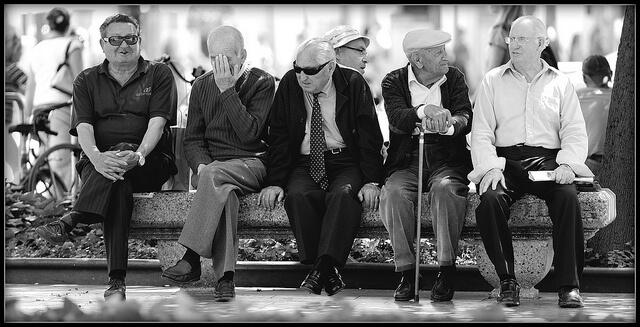 אנשים מבוגרים