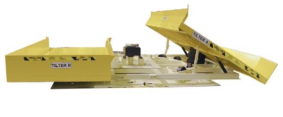 180 degree powered rotator with 2 tilt