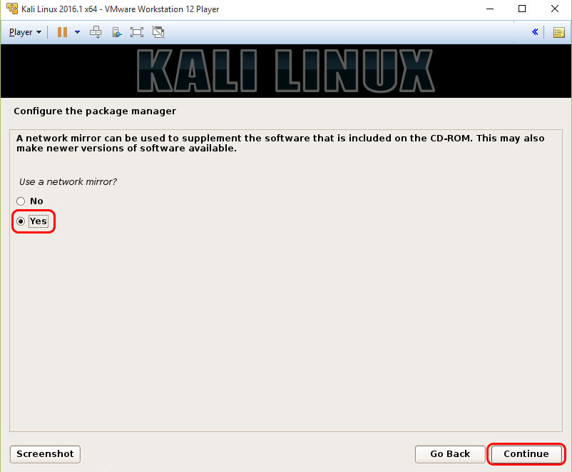 How To Install Kali Linux In VMware Player |
