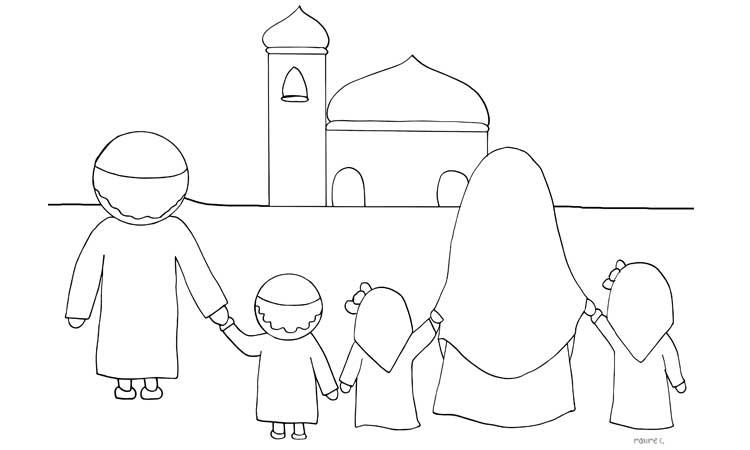 Kumpulan Contoh Sketsa Gambar Bulan Ramadhan Informasi Masa Kini
