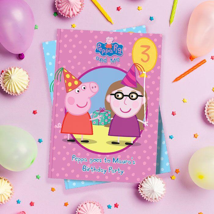 Peppa Pig Personalized Children S Birthday Book Penwizard