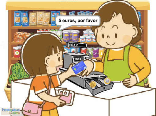 Dinero en efectivo (50c, 1 y 2 euros)(1-6)