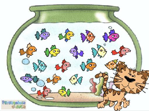 Sigue contando solo los peces (16-19)