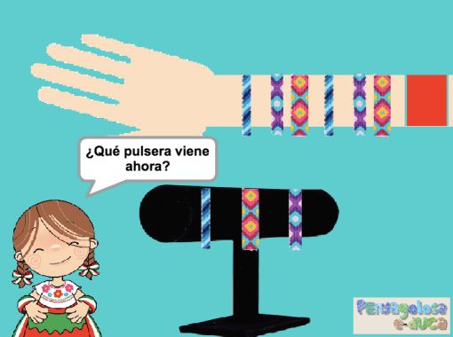 Sigue la serie de pulseras (ABC)