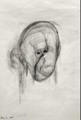 autoportret alchajmer umetnost slika 2000