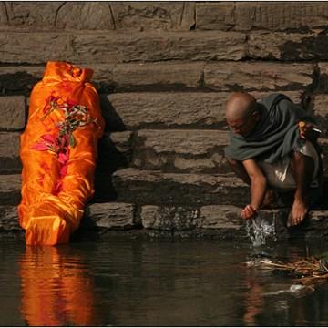 Nepalske kremacije na reci Bagmati