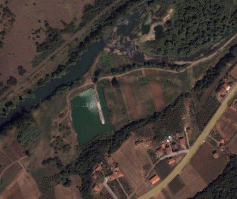 Jezero kraj Ibra kod Dobrave