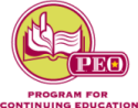P.E.O. Program for Continuing Education logo