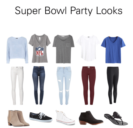 Super Bowl Looks