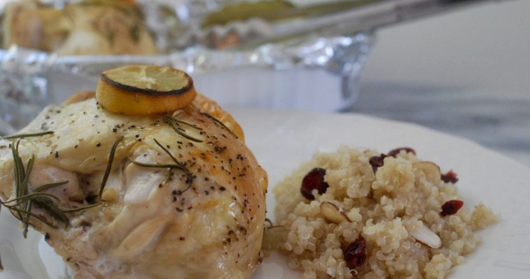 Rosemary and Lemon Roasted Chicken