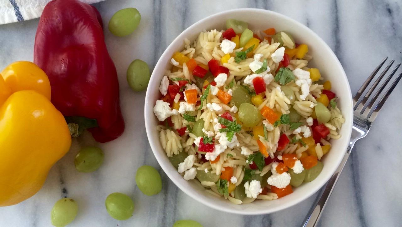 Summer Orzo Pasta Salad