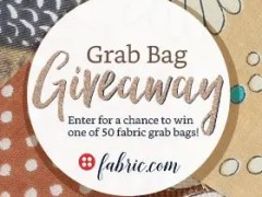 fabric dot com Grab Bag #Giveaway Enter NOW