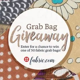 fabric dot com Grab Bag #Giveaway Enter NOW