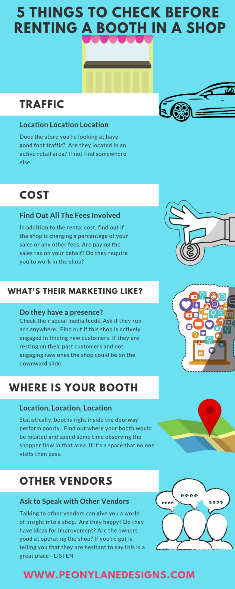 5 Things To Check Before Renting a Booth in a Shop