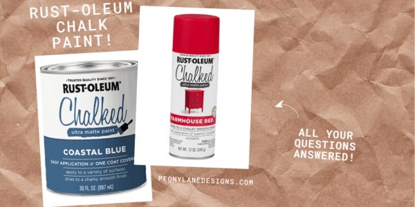 Rust-Oleum Chalk Paint – All Your Questions Answered