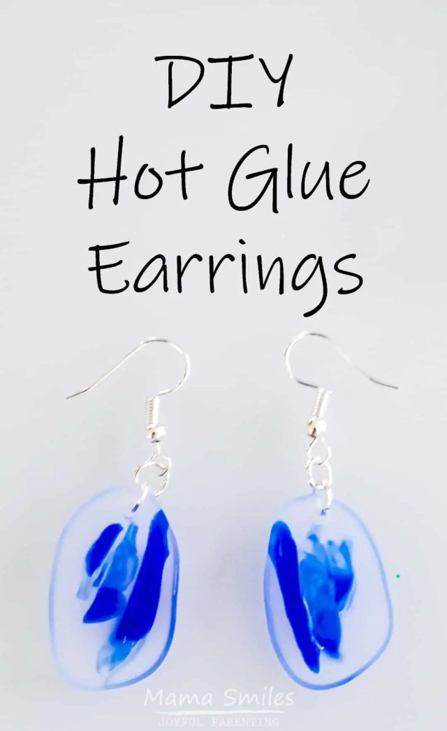 DIY Hot Glue Earrings