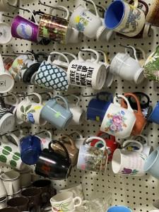 Mug at a thrift store