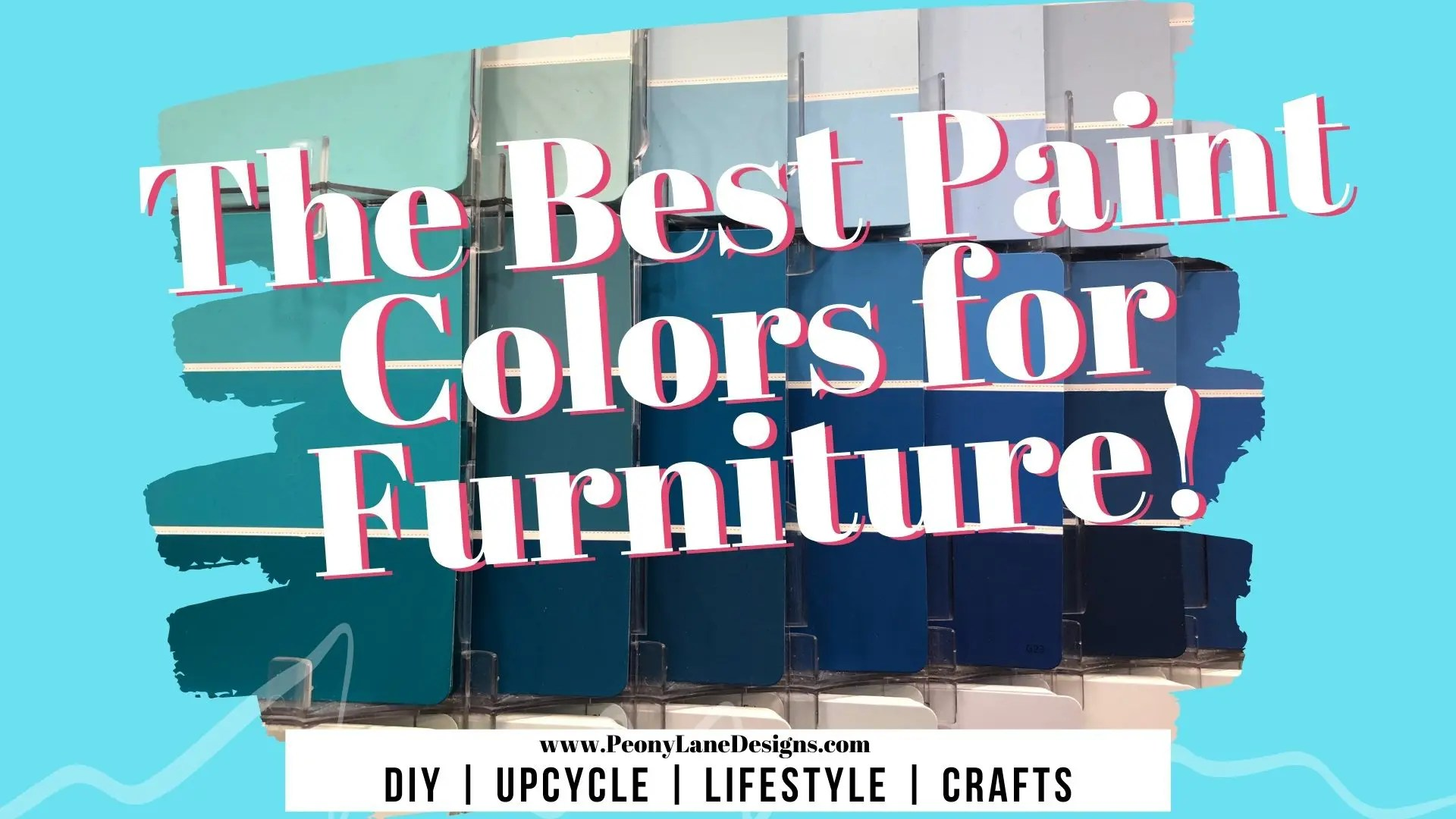 The Best Paint Colors for Furniture