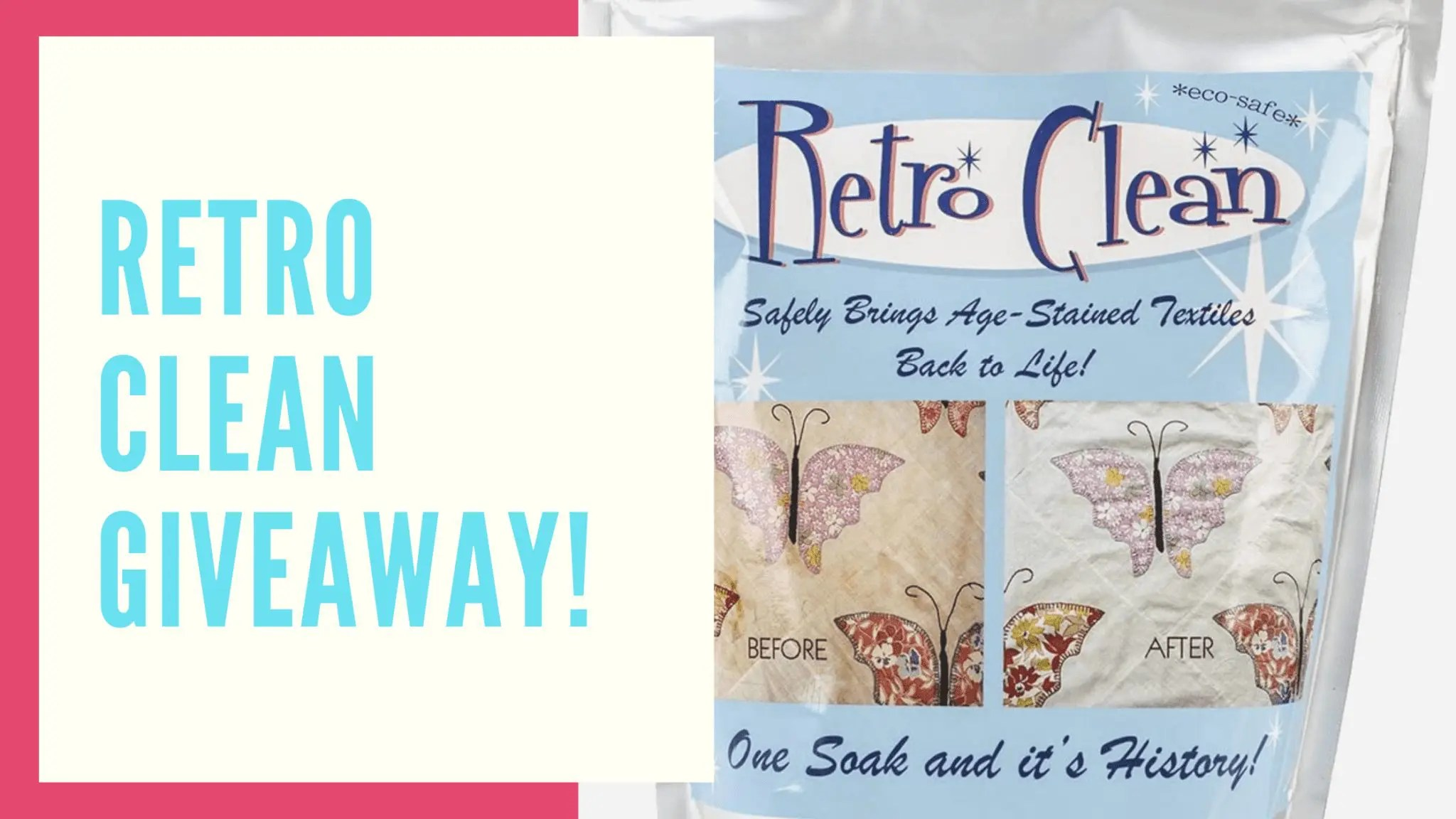 Retro Clean Giveaway!