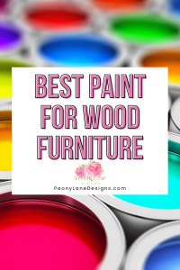 Best Paint for Wood Furniture // sanding and painting furniture // painting vaneer furniture // furniture refinishing // wood paint // best way to paint furniture // paint for wood furniture // painting furniture diy