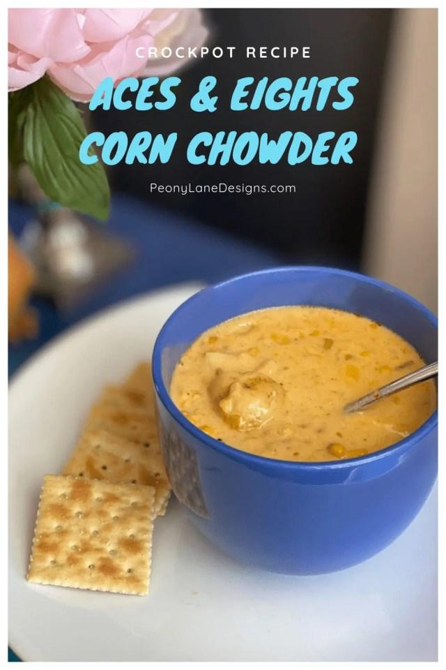 corn chowder recipe // crockpot recipe // corn chowder //