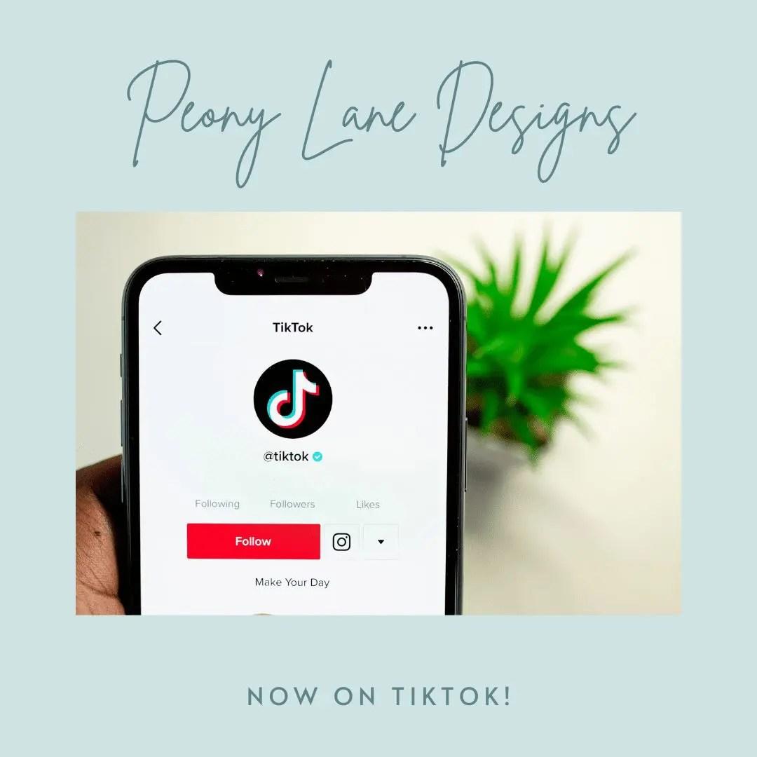 Peony Lane Designs is on TikTok