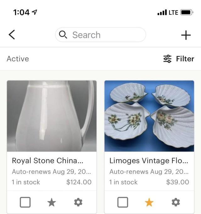 Step 4 Etsy Sellers App