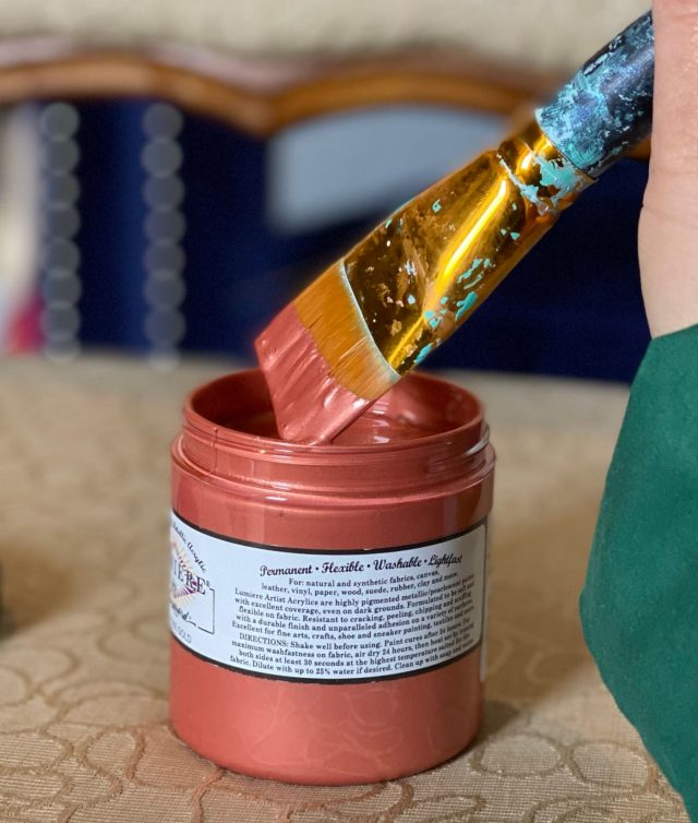 Jacquard Lumiere Fabric Paint