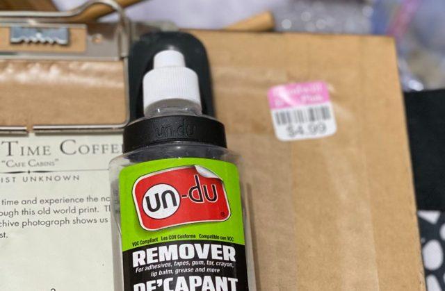 Un-Du label remover