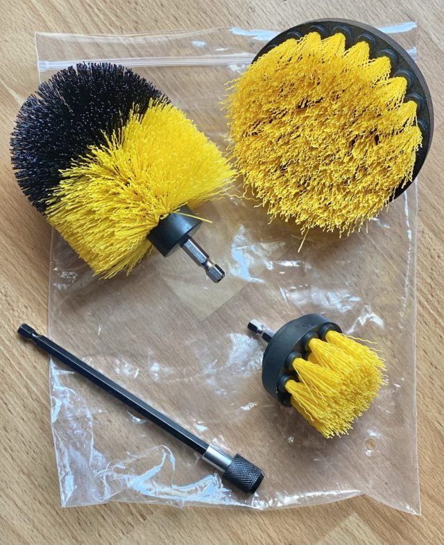 Drill Brush Cleaning Kit Came With