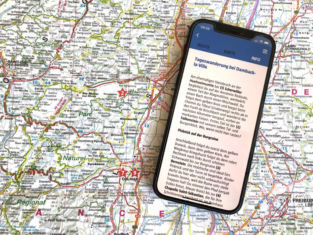 Wandern Frankreich Reiseführer