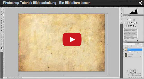 Ein Bild altern lassen - Photoshop Video Tutorial