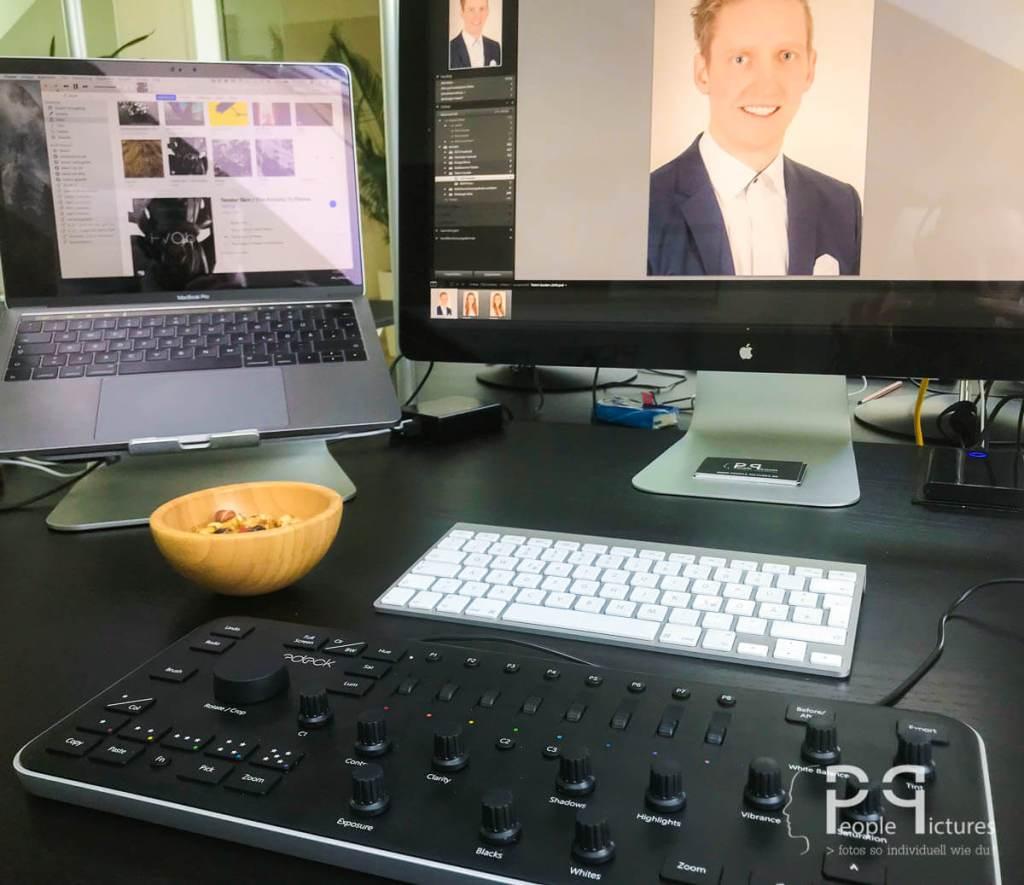 Arbeiten mit dem Loupdeck: Erfahrungsbericht zu dem Pult für Adobe Lightroom