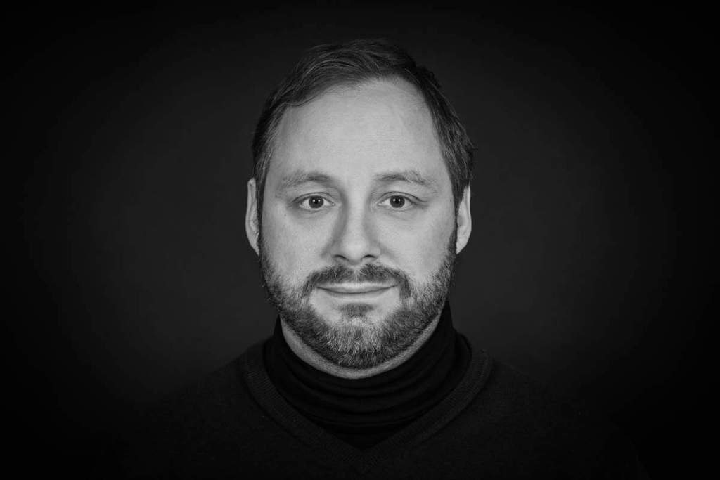 Poträtfotos schwarz weiß - Michael Kunz - Fotograf bei People-Pictures