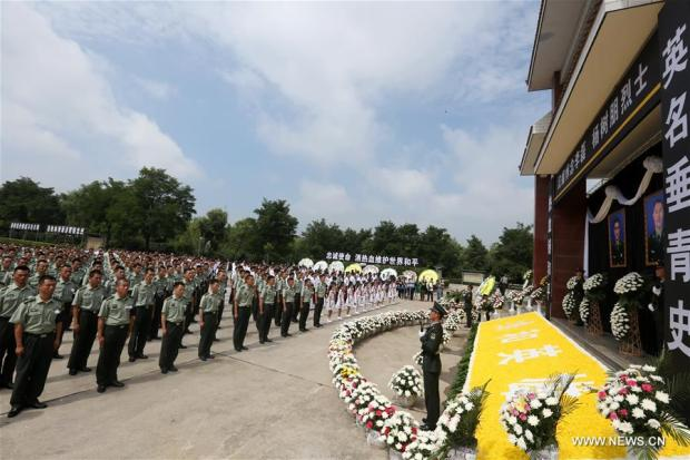 CHINA-HENAN-CHINESE UN PEACEKEEPERS-FUNERAL (CN)