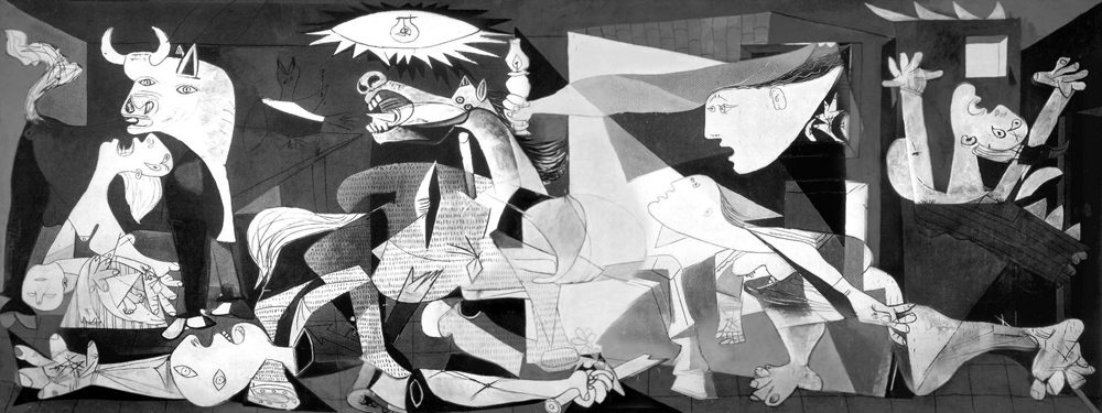 Image result for picasso's guernica
