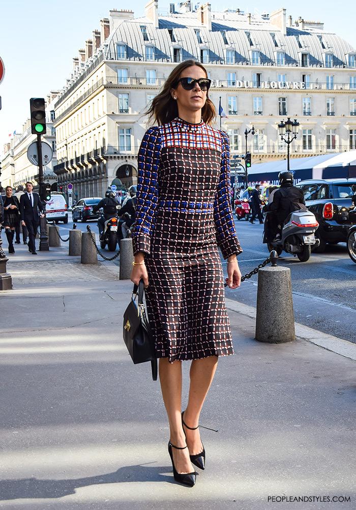 Wear to Work Street Style Inspiration: Beautiful Marni Midi Dress